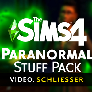 The Sims 4 Paranormal Stuff Pack Video Trailer
