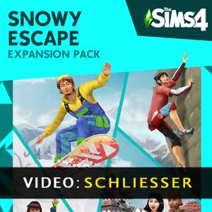 The Sims 4 Snowy Escape Expansion Pack Video-Trailer