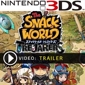 The Snack World Trejarers Nintendo 3DS Digital Download und Box Edition