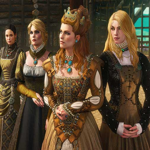 The Witcher 3 Wild Hunt Blood and Wine Charakter