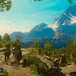 The Witcher 3 Wild Hunt Berge