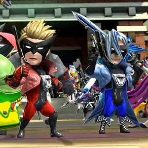 Truppen von Superhelden