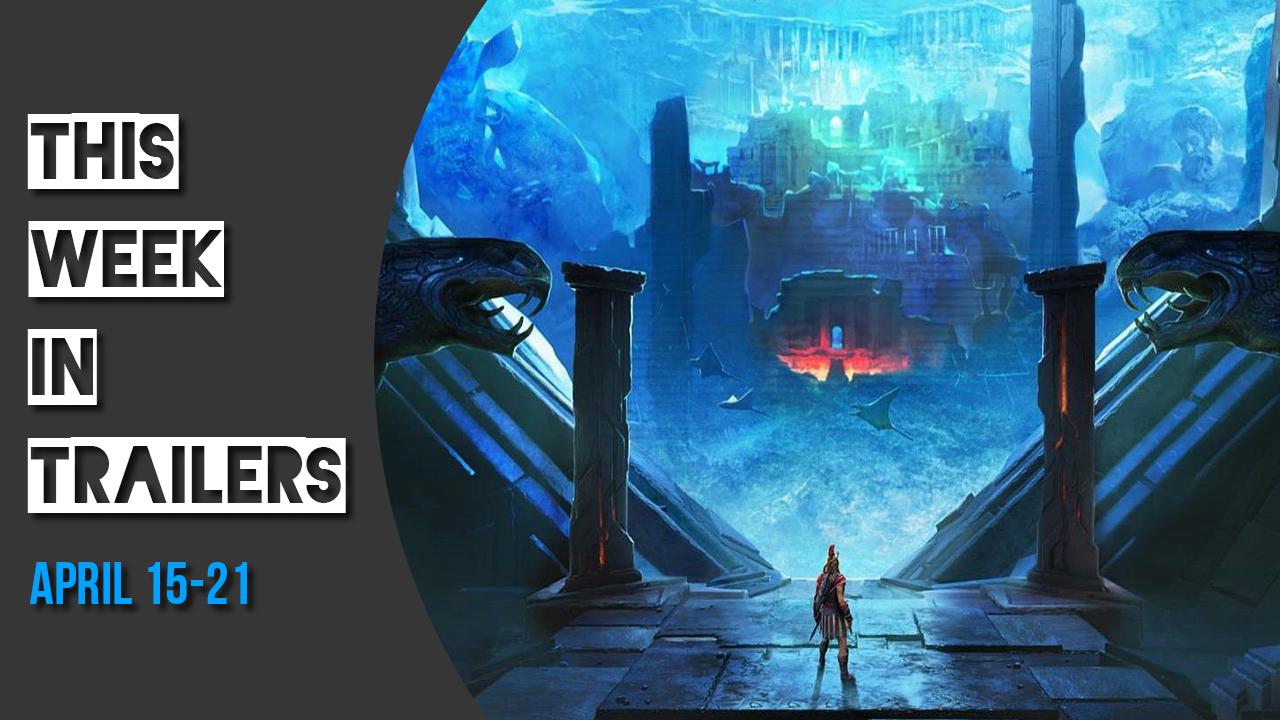 PC Spiele: Die 3. April-Woche in Trailern