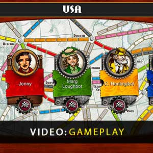 Ticket to Ride Gameplay Video