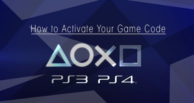 Wie Du Deinen Spielecode auf Deiner PS3/ PS4 aktivierst