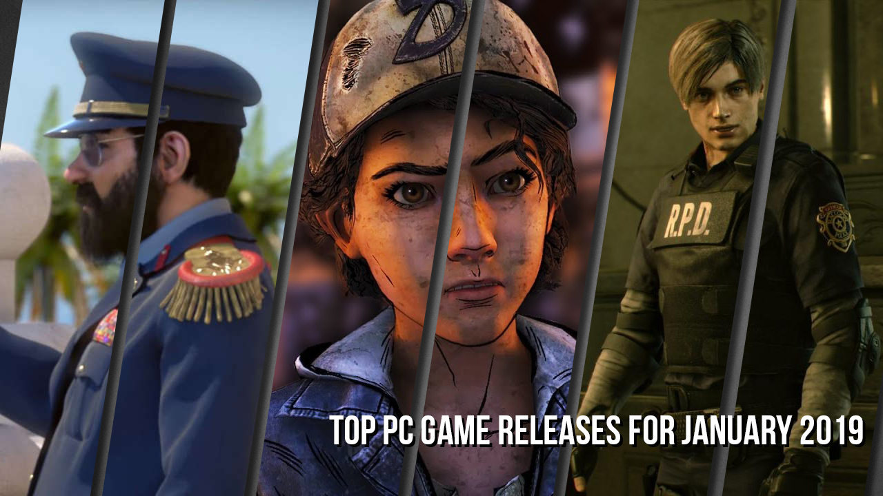 Top PC Spiele Release im Januar 2019