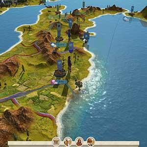 Total War ROME REMASTERED Karte