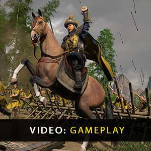 Total War THREE KINGDOMS Mandate of Heaven Gameplay Video