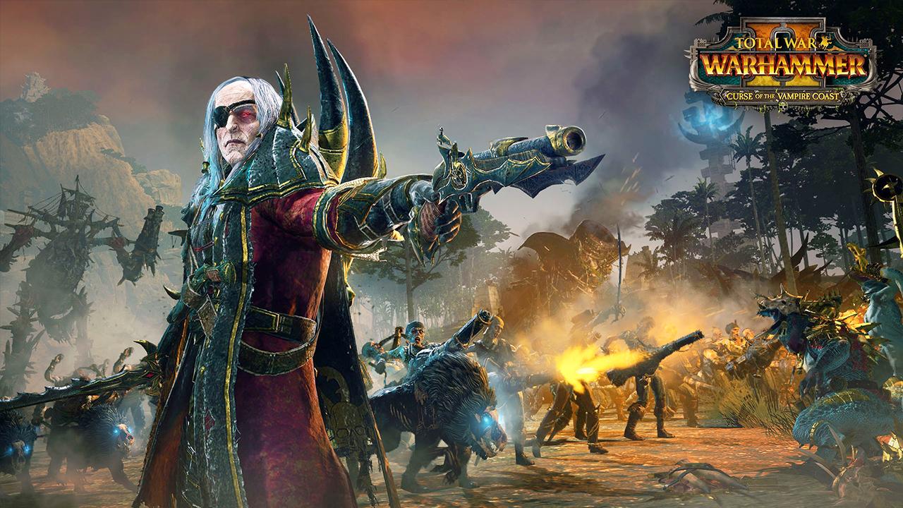 Total War Warhammer 2 Curse of the Vampire Coast DLC