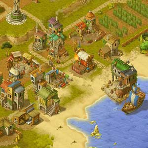 einen Hafen entlang der Küste zu bauen