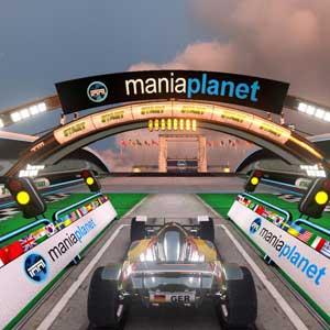 TrackMania 2 Stadion - Startlinie