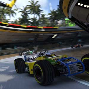 Trackmania Turbo PS4 Rasse