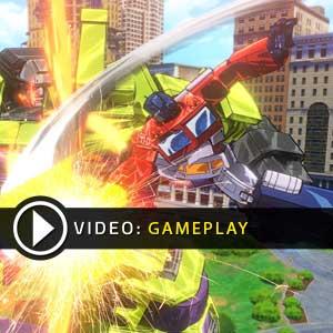 Transformers Devastation PS4 Gameplay Video
