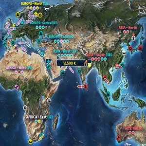 TransOcean 2 Rivals Liste der Schiffs
