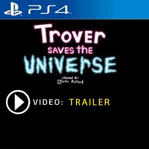 Trover Saves The Universe PS4 Digital Download und Box Edition