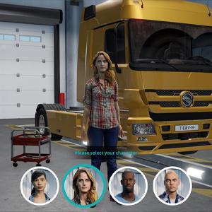Truck Driver - Charakter