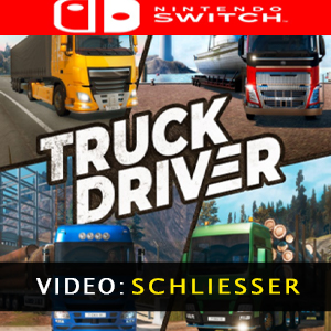 Truck Driver Nintendo Switch Video Trailer