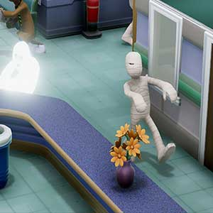 Two Point Hospital Gespenster und Mumien
