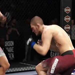 Auffallend in EA SPORTS UFC 3