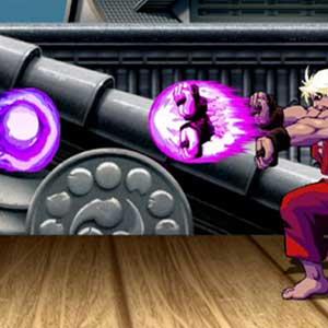 Evil Ryu und gewalttätiges Ken Match