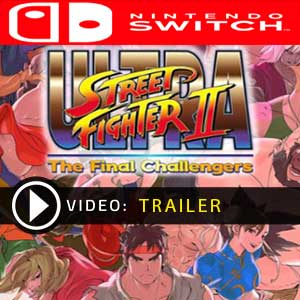 Ultra Street Fighter 2 The Final Challengers Nintendo Switch Digital Download und Box Edition