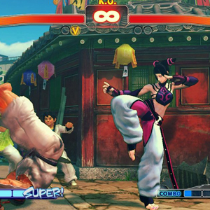 Ultra Street Fighter 4 Schlacht