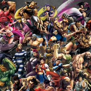 Ultra Street Fighter 4 Zeichen