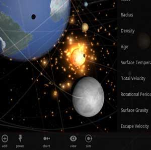 Universe Modell Klima der Erde