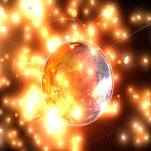Kollidieren Planeten & Stars in Sandbox 2