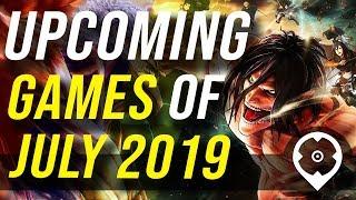 Neue Spiele im Juli 2019