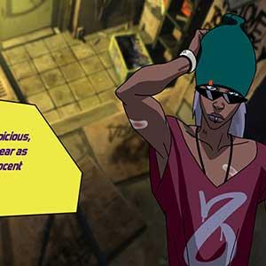 Animierter Urbance Pilot