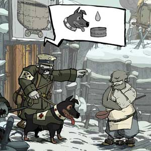 Valiant Hearts The Great War - Figuren