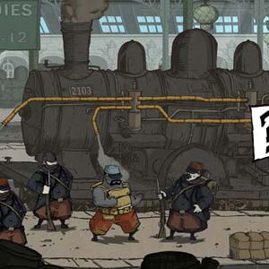 Valiant Hearts The Great War - Zug