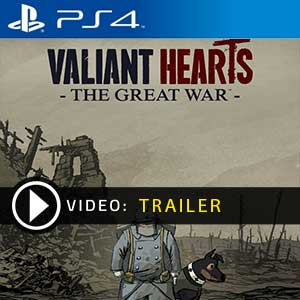 Valiant Hearts The Great War PS4 Digital Download und Box Edition