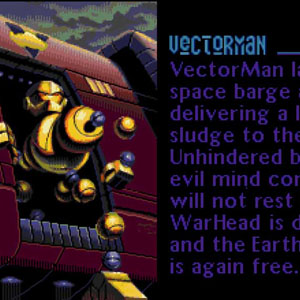 Vectorman Geschichte