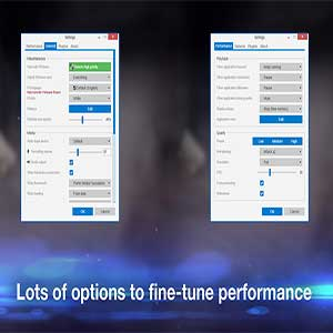 options to fine-tune performance