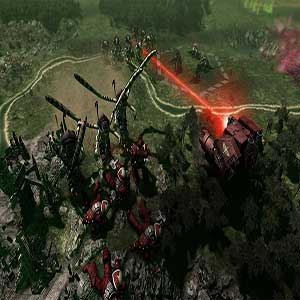 Feral Tyranids attacks Space Marines
