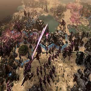 Feral Tyranids attacks take over impire