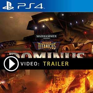 Warhammer 40K Adeptus Titanicus Dominus PS4 Digital Download und Box Edition