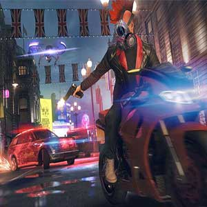 Watch Dogs Legion Car Chase