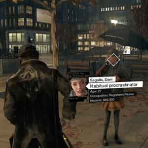 Watch Dogs Xbox One : Analysieren Menschen