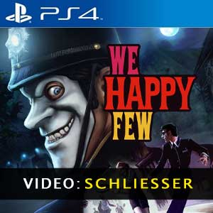 We Happy Few PS4 Digital Download und Box Edition
