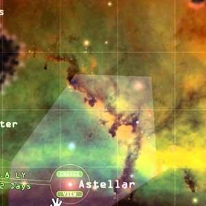 Weird Worlds Return to Infinite Space Karte