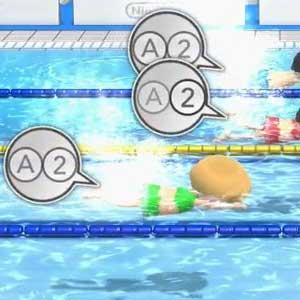 Wii Party U Nintendo Wii U Schwimmen