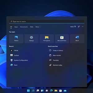 Windows 11 Pro OEM Startmenü