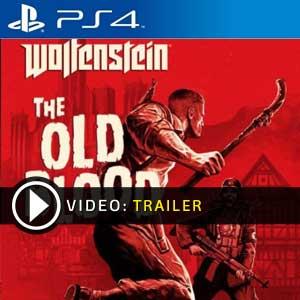 Wolfenstein The Old Blood PS4 Digital Download und Box Edition