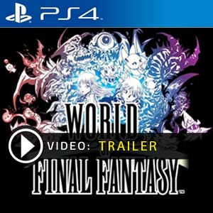World of Final Fantasy PS4 Digital Download und Box Edition