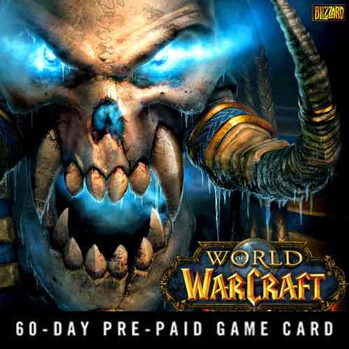 Kaufen Gamecard World Of Warcraft 60 Tage Key Kode Preisvergleich