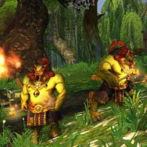 World of Warcraft Mists of Pandaria - Wald