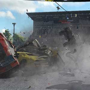 Wreckfest Car Pile Up